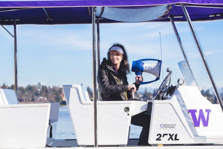 Yasmin Farooq, UW Rowing