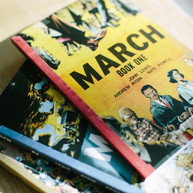john lewis, march
