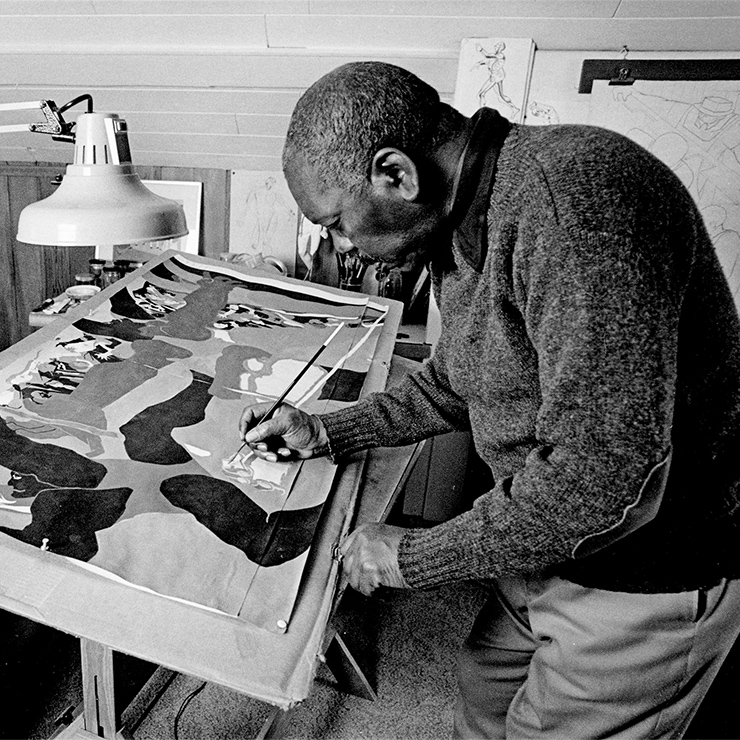jacob lawrence 100th birthday