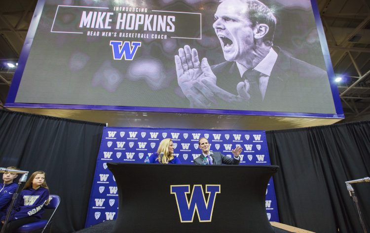 UW men's basketball coach Mike Hopkins, syracuse mike hopkins