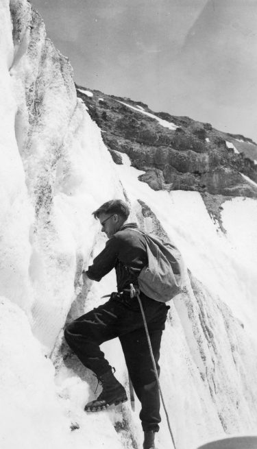 Lloyd Anderson, '26, founder of REI and lifelong Mountaineer.
