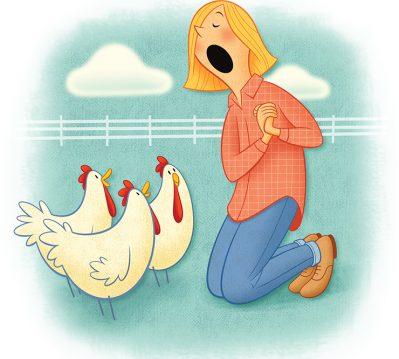 chickens, sarah St. Albin