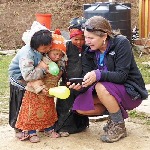 Denise Attwood, nepal