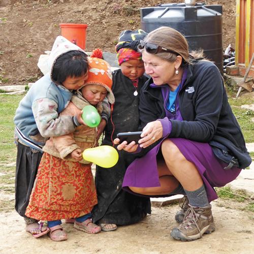 Denise Attwood, nepal