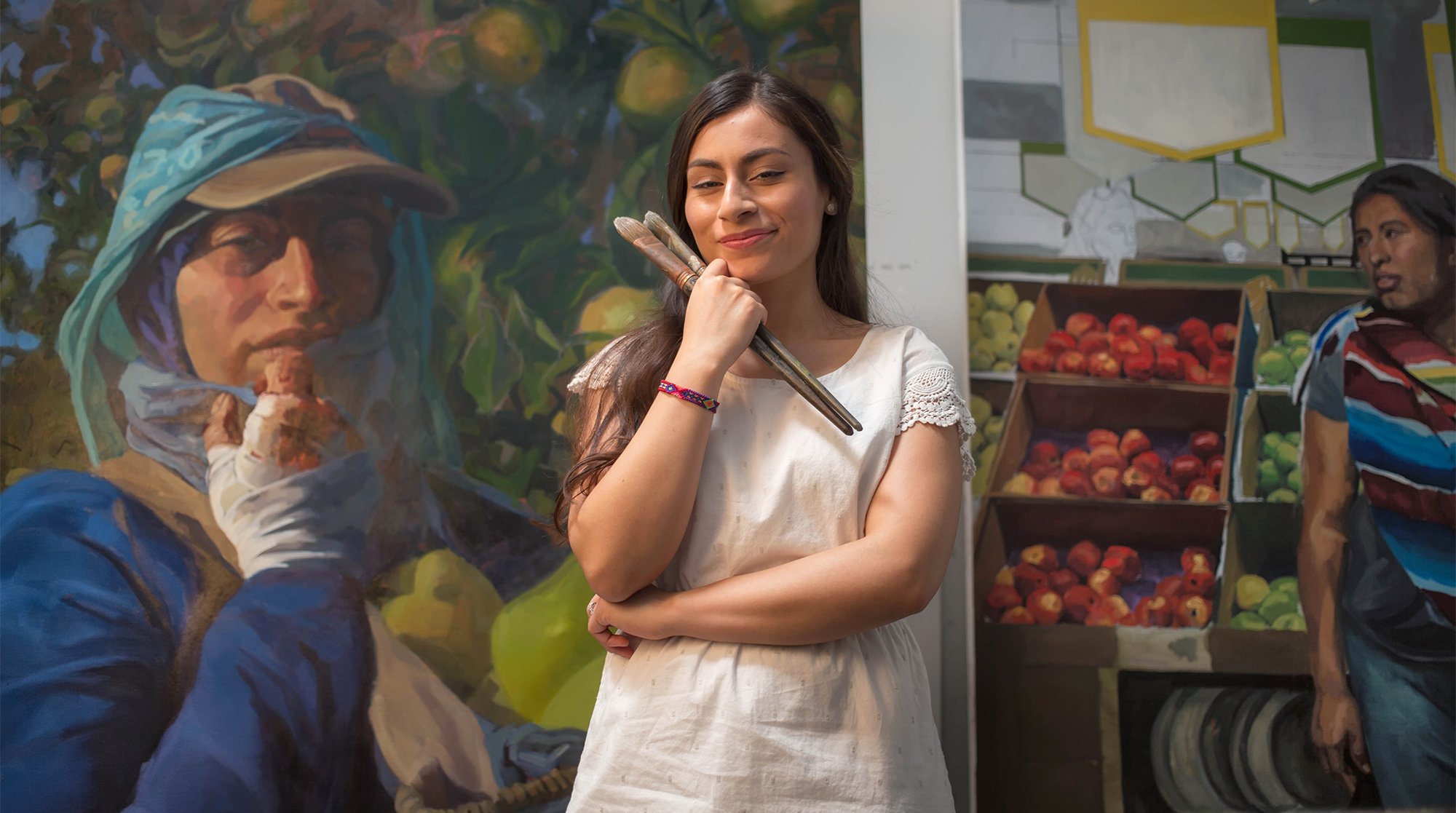 Arely Morales, Arely Morales painter, uw mfa, daca artist