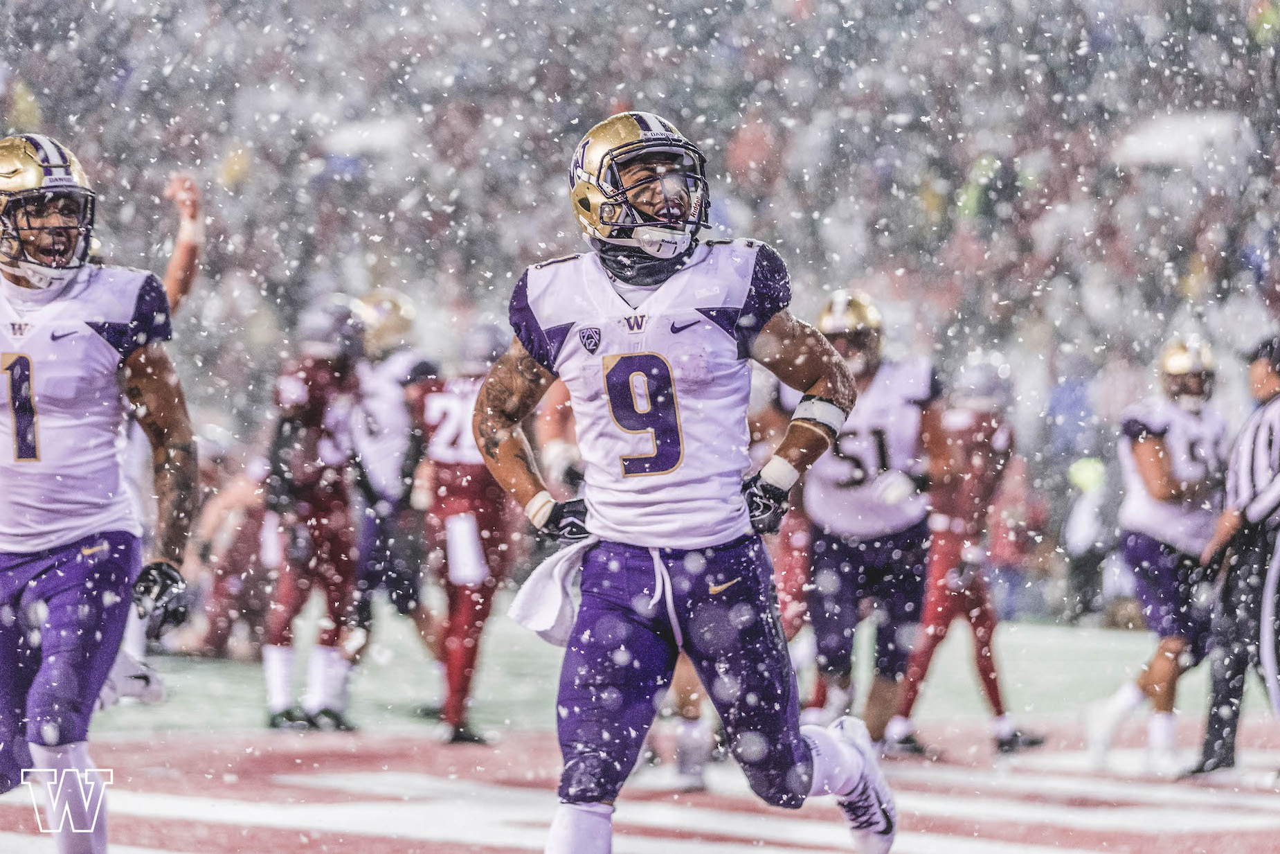Myles Gaskin, ncaa football, gaskin, myles, running back myles gaskin, nfl running back, uw husky running back, pac 12, gaskin football, myles football, washington football, husky, huskies